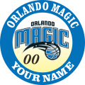 Orlando Magic Customized Logo iron on sticker