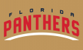 Florida Panthers 2016 17-Pres Wordmark Logo 04 iron on sticker