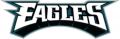 Philadelphia Eagles 1996-Pres Wordmark Logo iron on sticker