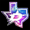 Galaxy Dallas Stars Logo iron on sticker