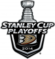 Anaheim Ducks 2013 14 Event Logo decal sticker