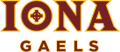 Iona Gaels 2013-2015 Primary Logo iron on sticker