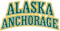 Alaska Anchorage Seawolves 2004-Pres Wordmark Logo 02 decal sticker