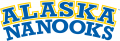 Alaska Nanooks 2000-Pres Wordmark Logo 03 decal sticker