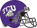 TCU Horned Frogs 1995-Pres Helmet Logo decal sticker