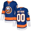 New York Islanders Custom Letter and Number Kits for Blue Jersey