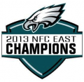 Philadelphia Eagles 2013 Champion Logo iron on sticker