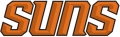 Phoenix Suns 2012-2013 Pres Wordmark Logo 2 iron on sticker
