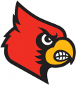 Louisville Cardinals 2007-2012 Secondary Logo iron on sticker