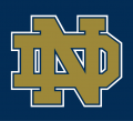 Notre Dame Fighting Irish 1994-Pres Alternate Logo 06 iron on sticker