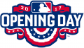 MLB Opening Day 2017 Logo iron on sticker