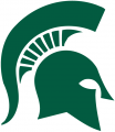 Michigan State Spartans 1977-Pres Primary Logo iron on sticker