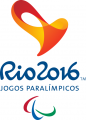 2016 Rio Paralympics 2016 Primary Logo iron on sticker