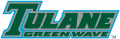 Tulane Green Wave 1998-2013 Wordmark Logo decal sticker