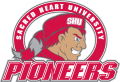 Sacred Heart Pioneers 2013 Primary Logo decal sticker