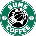 Phoenix Suns Starbucks Coffee Logo decal sticker