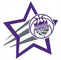 Sacramento Kings Basketball Goal Star logo iron on sticker