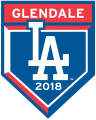 Los Angeles Dodgers 2018 Event Logo decal sticker