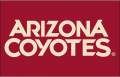 Arizona Coyotes 2015 16-Pres Wordmark Logo decal sticker
