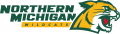 Northern Michigan Wildcats 2016-Pres Alternate Logo 03 iron on sticker