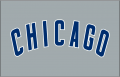 Chicago Cubs 1997-Pres Jersey Logo decal sticker