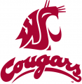 Washington State Cougars 1995-2010 Alternate Logo decal sticker