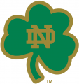 Notre Dame Fighting Irish 1994-Pres Alternate Logo 12 iron on sticker