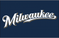 Milwaukee Brewers 2010-2015 Jersey Logo iron on sticker