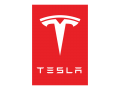 Tesla Logo 02 iron on sticker