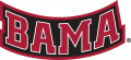 Alabama Crimson Tide 2001-Pres Wordmark Logo 07 iron on sticker