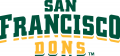 San Francisco Dons 2012-Pres Wordmark Logo 01 decal sticker