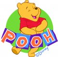 Disney Pooh Logo 29 decal sticker