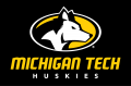 Michigan Tech Huskies 2016-Pres Primary Dark Logo iron on sticker