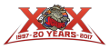 Odessa Jackalopes 2016 17 Anniversary Logo decal sticker