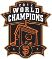 San Francisco Giants 2012 Champion Logo decal sticker