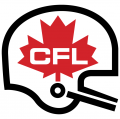 Canadian Football League 1969-2002 Primary Logo decal sticker