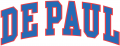 DePaul Blue Demons 1998 Wordmark Logo iron on sticker