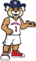 Arizona Wildcats 2013-Pres Mascot Logo 03 decal sticker