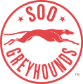 Sault Ste. Marie Greyhounds 1985 86-1994 95 Alternate Logo iron on sticker