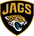 Jacksonville Jaguars 2013-Pres Alternate Logo 01 iron on sticker