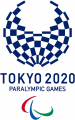 2020 Tokyo Paralympics 2020 Primary Logo decal sticker