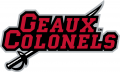 Nicholls State Colonels 2009-Pres Wordmark Logo 04 iron on sticker