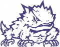 TCU Horned Frogs 1995-Pres Secondary Logo 01 decal sticker