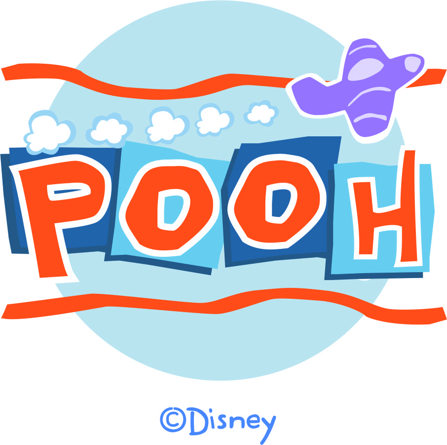 Disney Pooh Logo 13 decal sticker
